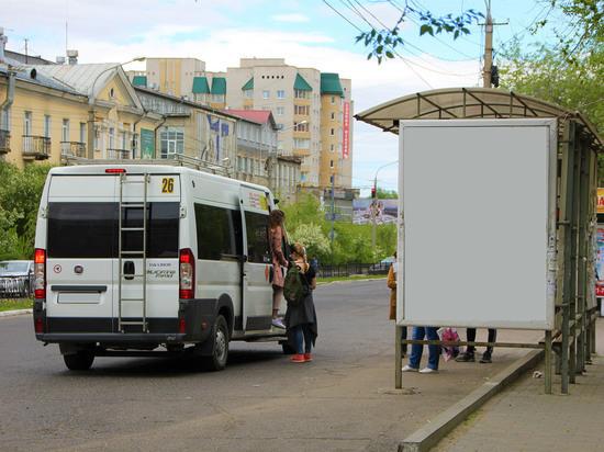 Мешающих троллейбусам маршрутчиков Читы «приучат к порядку»