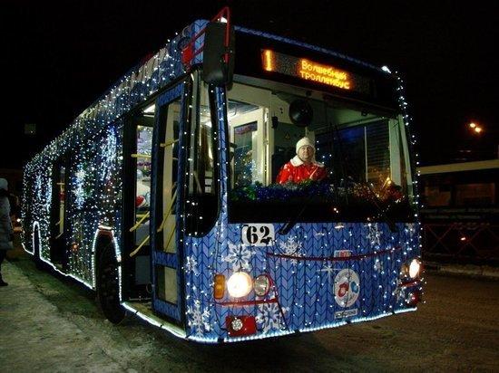 «Новогодние» троллейбус и автобус появятся в Чите