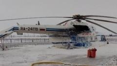 Жесткая посадка вертолета с вахтовиками в ЯНАО