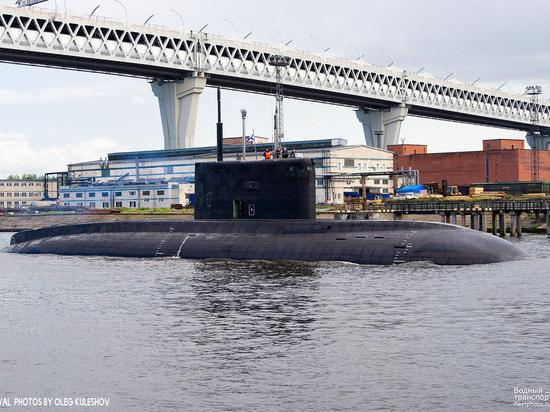 В Петербурге в состав ВМФ примут подлодку «Петропавловск-Камчатский»