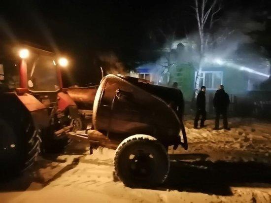 В Качугском районе горела сельская администрация