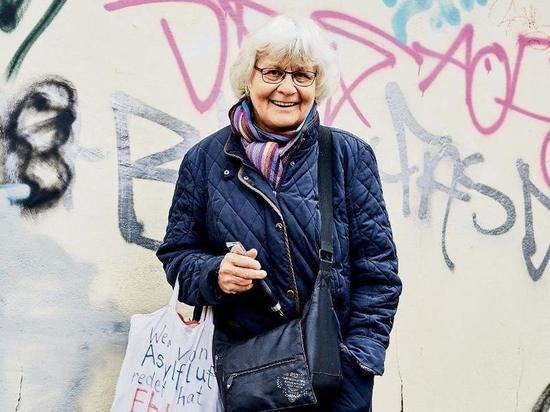 Германия. «Бабушка-граффити» против нацистов