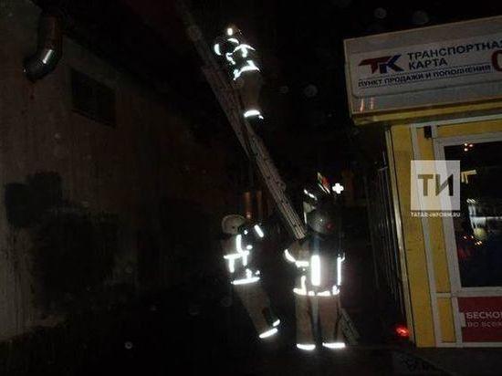 В Казани на пожаре в кафе «Медина» пострадала девушка-кассир