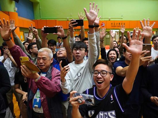 Протестное голосование: на выборах в Гонконге оппозиция получила большинство голосов