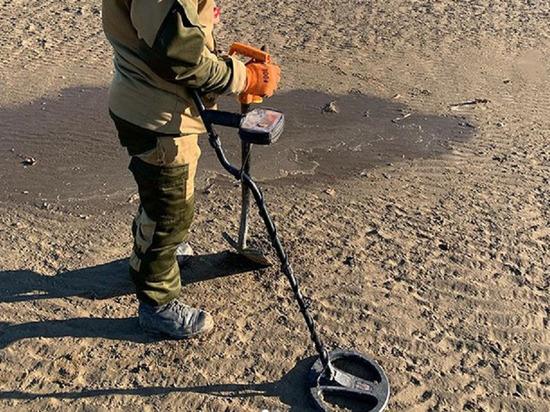 Мощный отлив превратил жителей Приморско-Ахтарска в кладоискателей