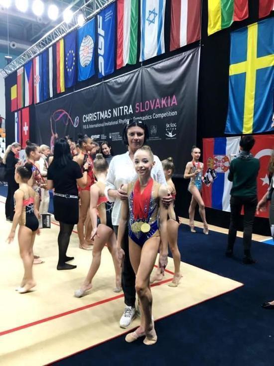 Гимнастка из Иванова с триумфом победила в международных соревнованиях