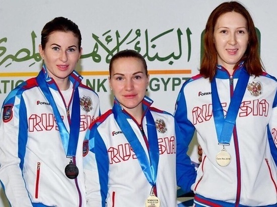 Курянка Инна Дериглазова взяла «серебро» этапа Кубка мира в Каире