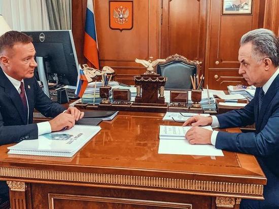Виталия Мутко связали с Курском