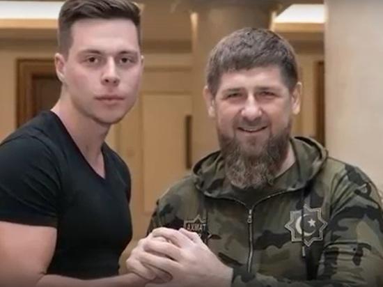 Рамзан Кадыров пошутил с известными блогерами в Грозном