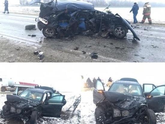 На Ставрополье в ДТП погиб человек и пострадали четверо