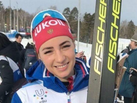 Лыжница из Рубцовска Яна Кирпиченко выступит на соревнованиях в составе российской сборной