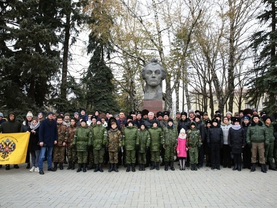 В Ставрополе вспоминали генералиссимуса Суворова