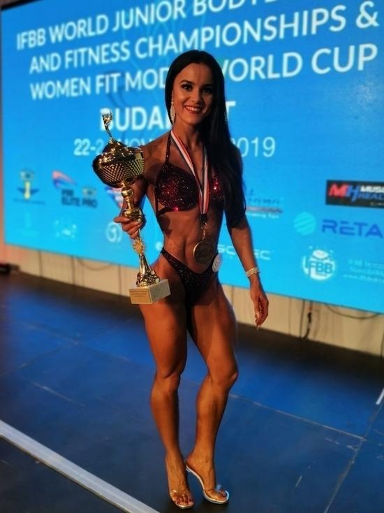 Жительница Дзержинска стала чемпионом мира по бодибилдингу
