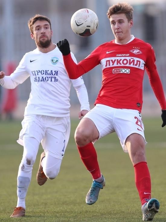 Курские футболисты сыграли вничью