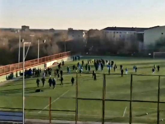 Два стадиона Калмыкии наказаны за скандальный матч