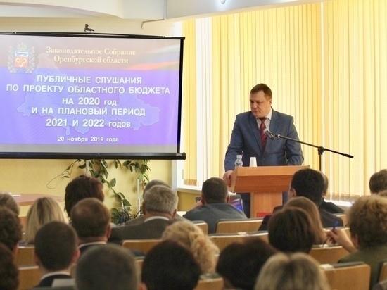 В Оренбурге представили проект бюджета