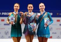 Дочка Тутберидзе и прекрасная Валиева: наши герои юниорского Гран-при