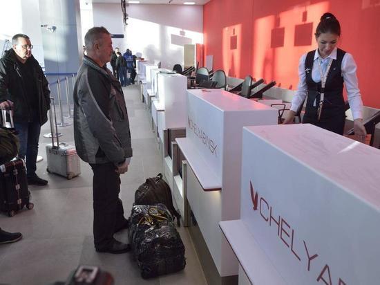 В челябинском аэропорту «Курчатов» заработал новый терминал внутренних авиалиний