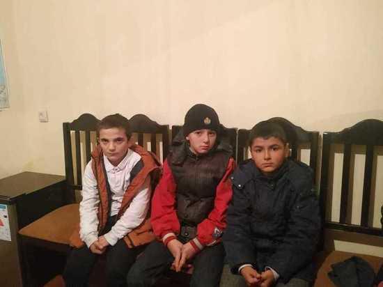 Пропавшие школьники найдены в Дагестане