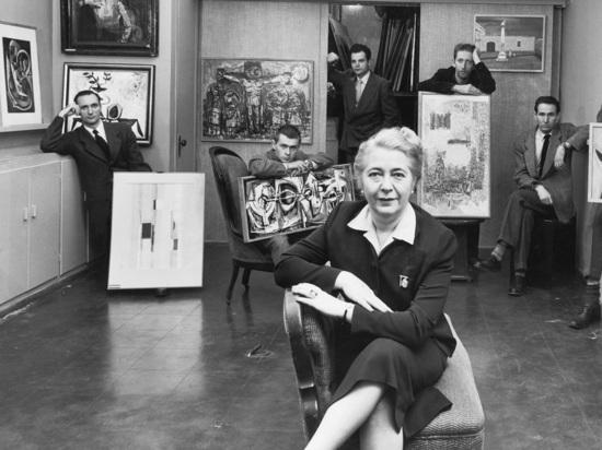 Выставка в Еврейском музее: одесситка Идит Хальперт первая начала пропагандировать американских художников