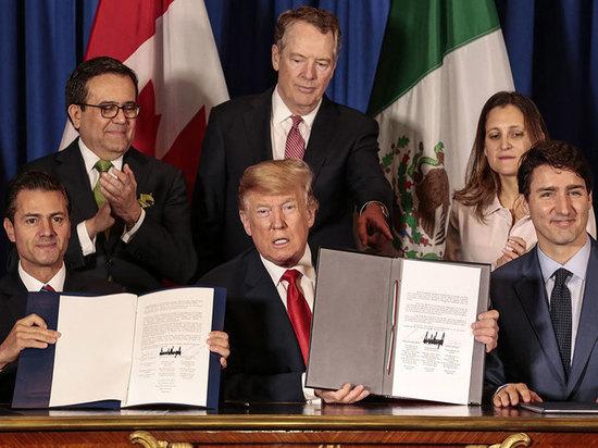Ратификации американо-канадско-мексиканского торгового договора (USMCA) забуксовала из-за мер, направленных на защиту рабочих и окружающей среды в Мексике