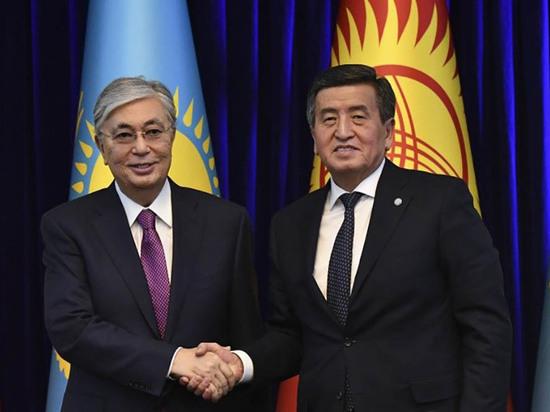 В Кыргызстан прибыл с госвизитом президент Казахстана