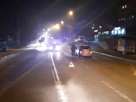 В Улан-Удэ женщина на «Марче» сбила пьяного пешехода