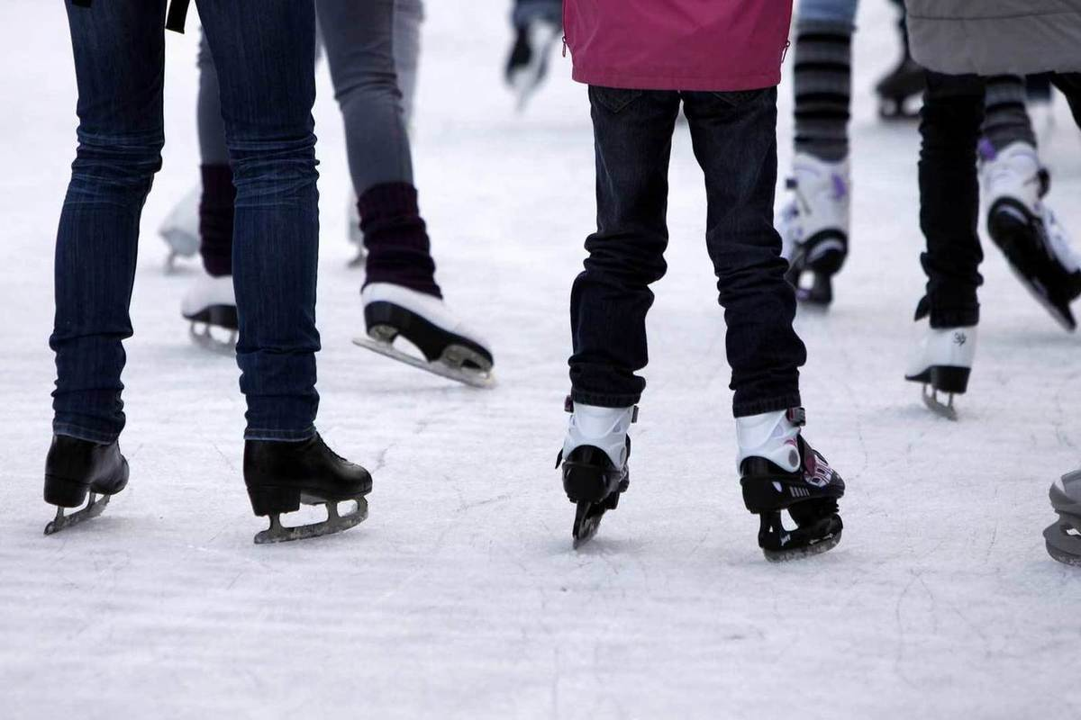 Картинка катания на коньках