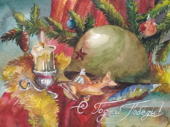 Рисунок девушки из Иванова появится на всероссийской новогодней открытке