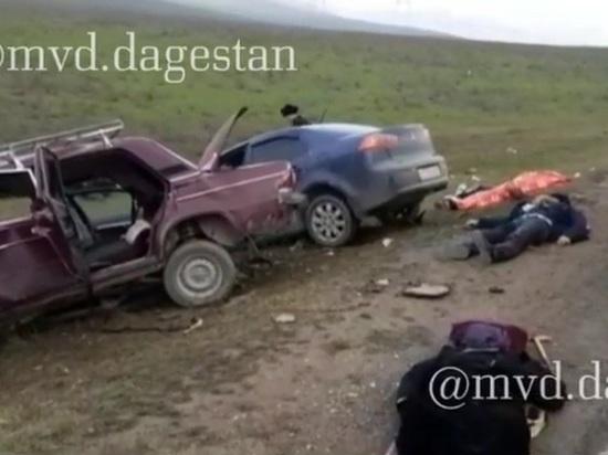 Четверо погибли в ДТП в Дагестане