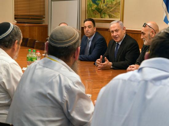 Нетаниягу встретился с главами местных советов Иудеи и Самарии