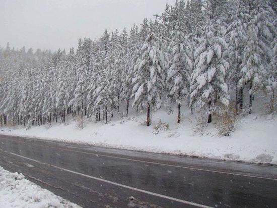 Федеральные дорожники в Бурятии приведены в боевую готовность из-за снега