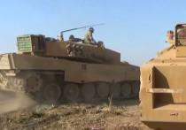 Воюющие в Сирии боевики-исламисты, которым оказывает помощь   турецкая армия, получили на вооружение современную бронетехнику