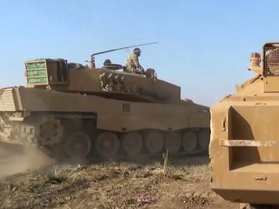 Сирийские боевики получили современные немецкие танки