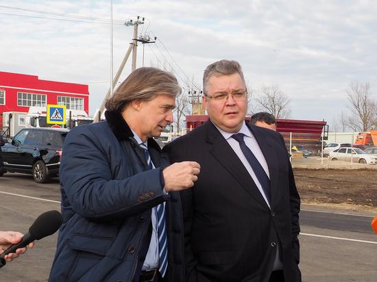 Открыта новая автодорога из Михайловска на Ставрополь