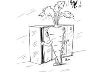 Жизнь Лепешкина была предопределена картинкой на его шкафчике в детском саду