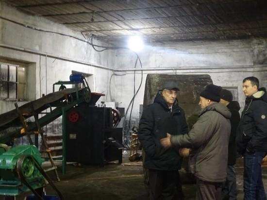 Мэрия Кызыла на текущей неделе получила специальное оборудование для производства угольных брикетов