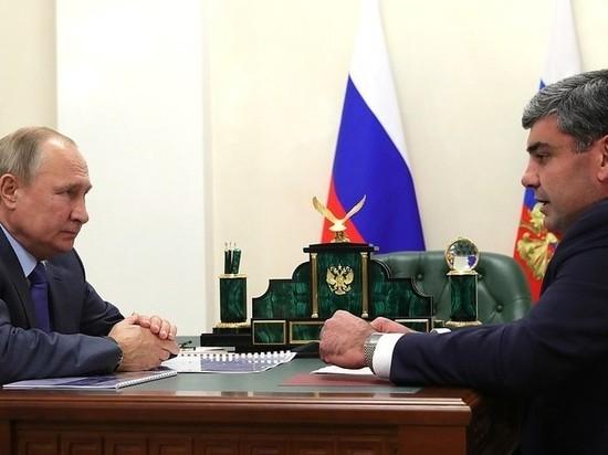 Коков доложил о реализации нацпроектов в КБР Путину: идем в срок
