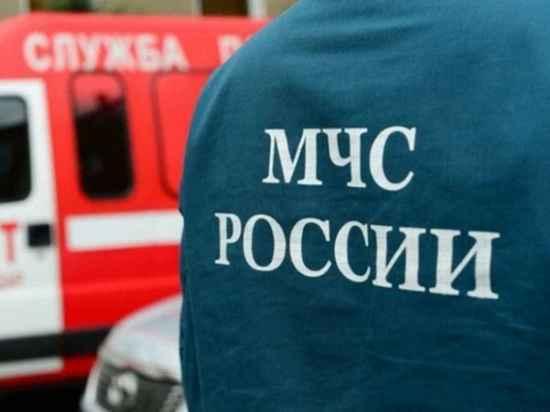 Ночью в Ивановской области сгорел большой дом