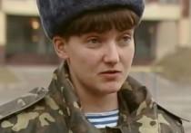 Надя - девочка: Савченко случайно сфотографировали в платье и туфлях