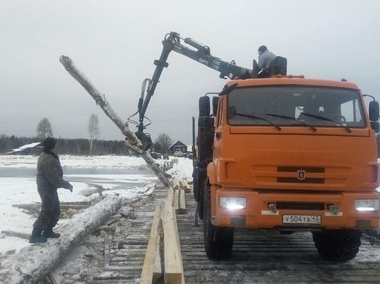 Большинство поврежденных мостов в Кировской области восстановлено