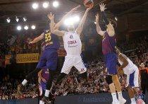 В пятницу ЦСКА одержал седьмую победу в баскетбольной Евролиге за 11 туров регулярного чемпионата