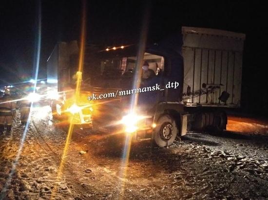На трассе Кола в Мурманской области произошла крупная авария