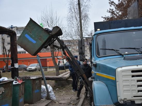 Две управляющие компании в Костроме не могут навести порядок на своих контейнерных площадках
