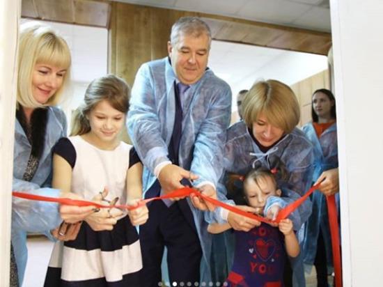 Маленькие пациенты серпуховской больницы смогут полноценно играть и развлекаться во время лечения