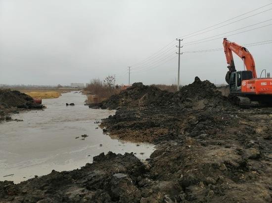 На севере Тамбова прорвало водовод