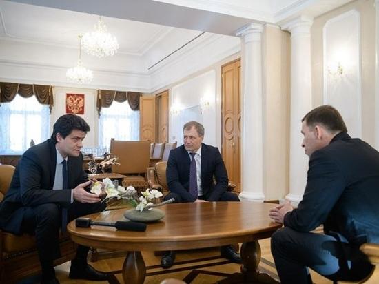 Куйвашев встретился с Высокинским и Володиным из-за бюджета Екатеринбурга