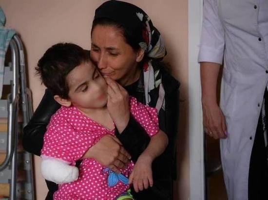 Мать искалеченной девочки из Ингушетии намерена растить ее в съемной квартире