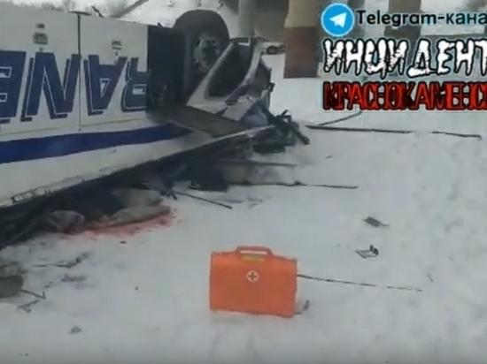 Видео с места аварии с автобусом в Забайкалье появилось в Сети