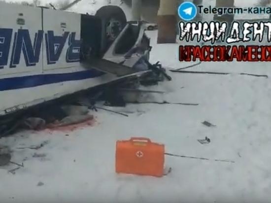 Одного пострадавшего в упавшем с моста автобусе доставили в Шилкинскую ЦРБ